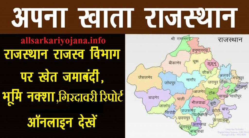 Apna khata Rajasthan Land Record