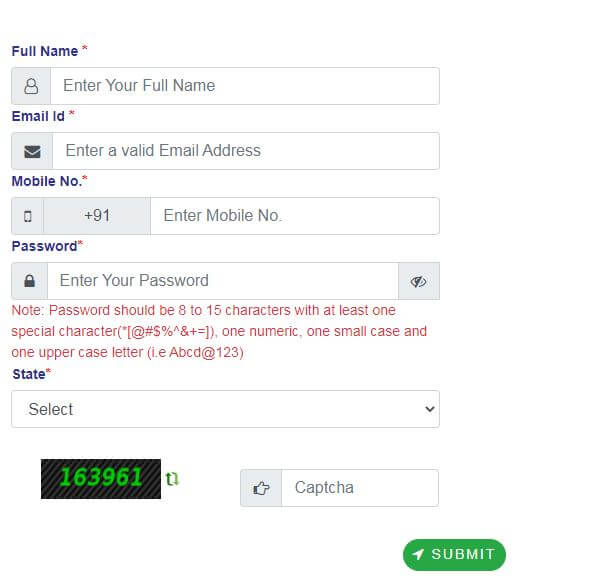 Bihar Vidhwa Pension Yojana Register form