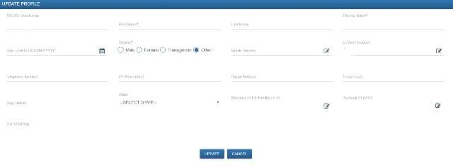 SSOID Application Form