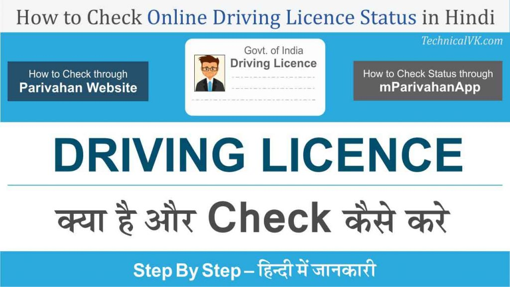 online driving licence check
