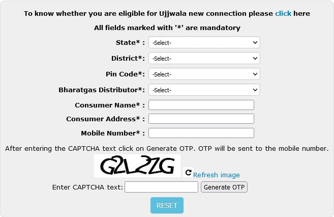 Bharatgas Online Registration