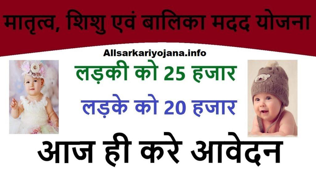 Matritva Shishu Evam Balika Yojana