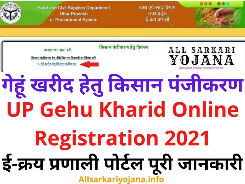 UP Gehu Kharid Online Registration