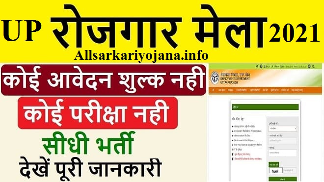 UP Rojgar Mela Online Registration