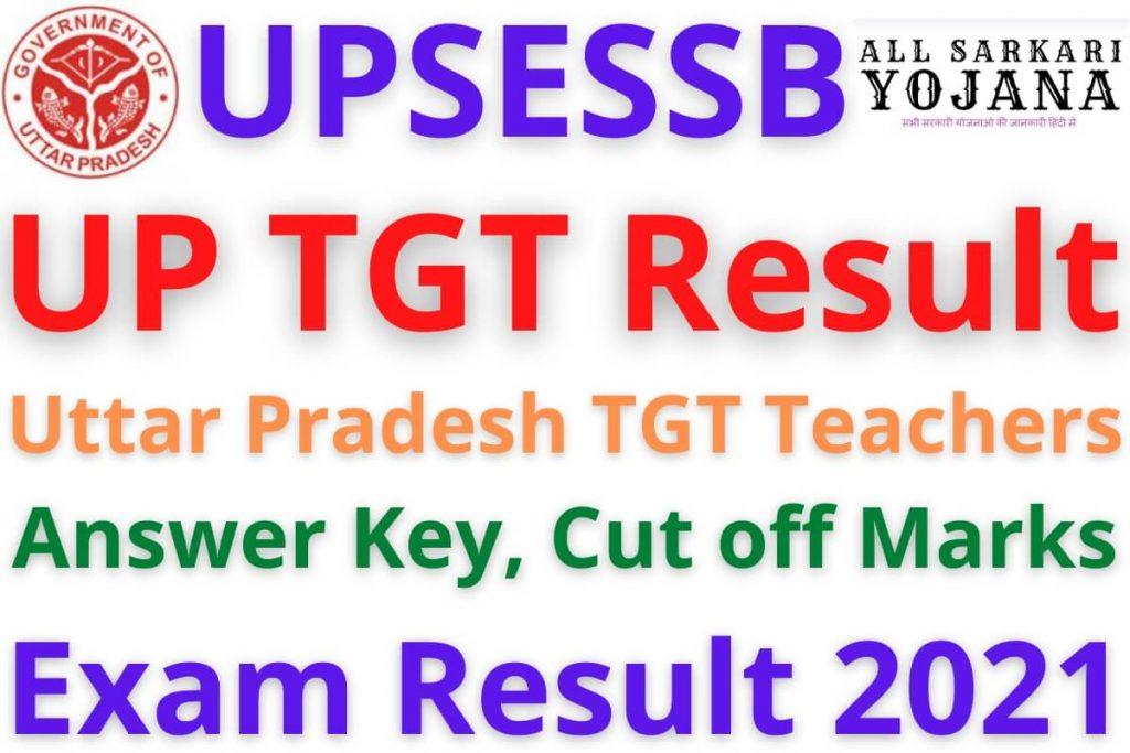 UP TGT Result