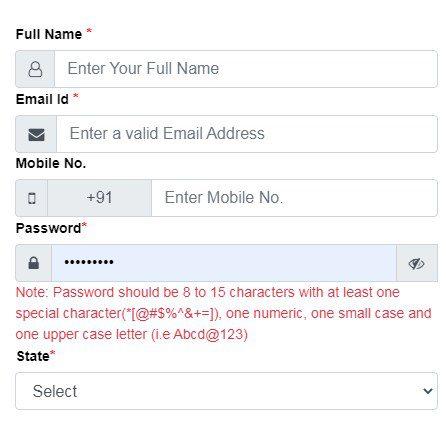 jharsewa online registration form